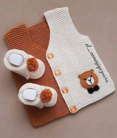 Cloudy Baby Y - Nazmİye - Baby Cloudy Cloudy - Diy Crafts - maallure Cardigan Bebe, Knitted Baby Cardigan, Knit Baby Sweaters, Baby Boy Knitting Patterns, Baby Sweater Patterns, Baby Pullover Muster, Diy Crafts Knitting, Baby Overall, Pull Bebe