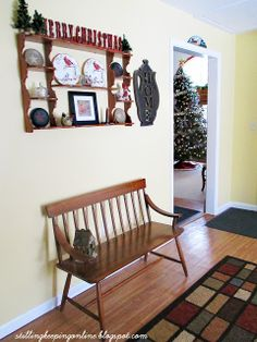 Still Keeping On The Narrow Way: Christmas Traditions At Our House: The Decorations