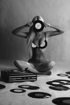 ... | records | vinyl | passion | blonde | fun | music | listening | play |