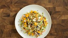 Turn bagged broccoli slaw into a satisfying meal