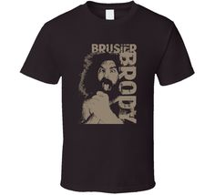 Bruiser Brody Wrestling Legend Retro Classic Fans Only T Shirt