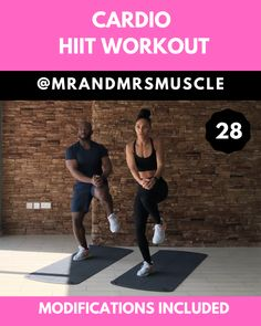 Full Body Cardio Workout Full Body Cardio Workout,Health and Fitness Total body fat burning HIIT exercise Sixpack Workout, Full Body Hiit Workout, Gym Workout Videos, Cardio Workout At Home, Best Cardio, Gym Workouts, Cardio Workouts, Crossfit Exercises, Muscle Workouts