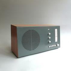 Braun RT 20 tischsuper pear wood / graphite, Dieter Rams 1961