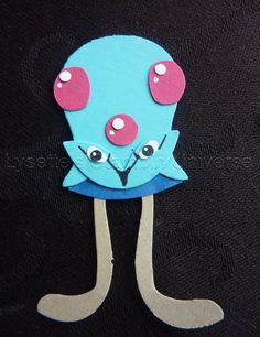 Gotta Craft Them All challenge dag 74: #Tentacool #Pokemon https://www.facebook.com/Lysettes.stampin.universe