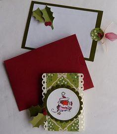 tutorial christmas card