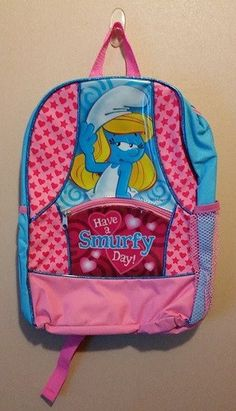 Have a Smufy Day  Smurfette Backpack