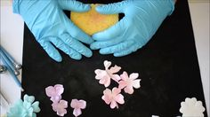 How to make flowers with Foamiran - Part 1