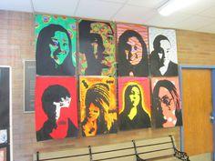 Art Display for School Hallways : Foyer Display