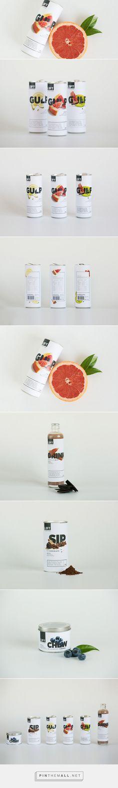 LEFT -  Package design & identity for a nutritional brand by Kirsten Bennett, Marguerite Nel