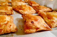 slow down and savor - a food blog: Savory Pastry - Yeah, I made them.
