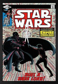 www.canvasgallery.com Stan  Lee Star Wars #44 - The Empire Strikes Back - Duel A Dark Lord   - Canvas
