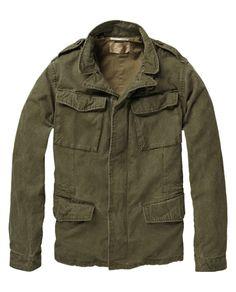 Olive M-65 Jacket