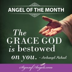 "Feel the ""Grace of God"" upon you now."