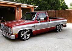 Red & Silver Silverado