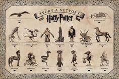 Výsledok vyhľadávania obrázkov pre dopyt harry potter zoznam kuziel