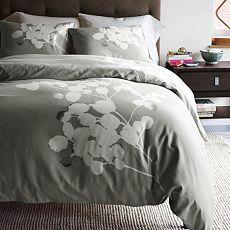 Solarized Duvet Cover + Shams... loving grey for the bedroom for some reason!