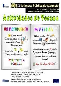 #actividadesBiblioteca Un pictocuento musical