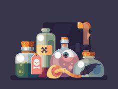 Fullliquid Alchemist by Anano Miminoshvili - Dribbble