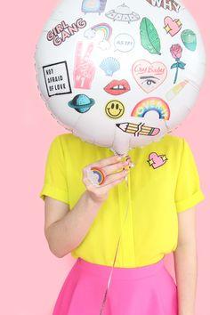 DIY Flair Temporary Tattoo Balloons