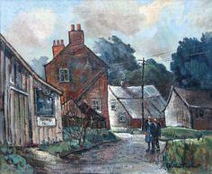 William Turner - The Joiners Shop, Mottram-St-Andrew