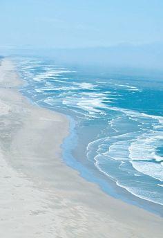 beach. sand. ocean.