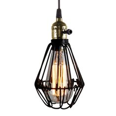 Classic Unique and Beautiful Vintage style lamp Retro Pendant Loft Hanging Lights for Outdoors >> http://s.click.aliexpress.com/e/bQZR72B