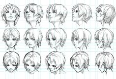pos hair You are in the right place about manga noir et blanc Here we offer y. Human Drawing, Manga Drawing, Figure Drawing, Drawing Sketches, Drawings, Manga Hair, Anime Hair, Manga Anime, Manga Boy