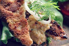 Fredsfisk Vegan Foods, Vegan Vegetarian, Vegetarian Recipes, Vegan Cookbook, Fried Fish, Food N, Plant Based Recipes, Salmon Burgers