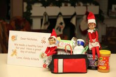 Lunch packers - Elf on the Shelf