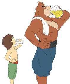 The Boy and the Beast (by コトブキ) Anime Films, Anime Characters, Fictional Characters, Bakemono No Ko, Mamoru Hosoda, Character Art, Character Design, Cartoon Man, Furry Art