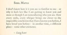 #Soulmates #love #quotes