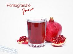 To invigorate your skin, to liven it up after a sluggish winter, to add color to your skincare repertoire let's talk about the antioxidant super food- pomegranate. The luscious pomegranate has three times as many antioxidants as red wine and green tea. Guess what! Acai juice and blueberry juice was no match to this red beauty's health benefits :) This fruit is rich in tannins, anthocyanins and ellagic acid- all helping you get healthier skin.