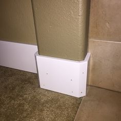Simplify trim work on rounded drywall corners with this clever jig. Corner Moulding, Base Moulding, Crown Molding, Lake Cabin Interiors, Bullet Jewelry, Geek Jewelry, Gothic Jewelry, Metal Jewelry, Jewelry Necklaces