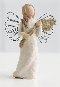 Willow Tree Figurines- Angel of Autumn......  'An Abundant Harvest of Thanks'.