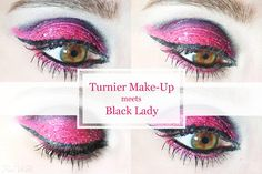 Black Lady inspired makeup by http://www.fioswelt.de/2016/06/turnier-make-up-meets-black-lady.html