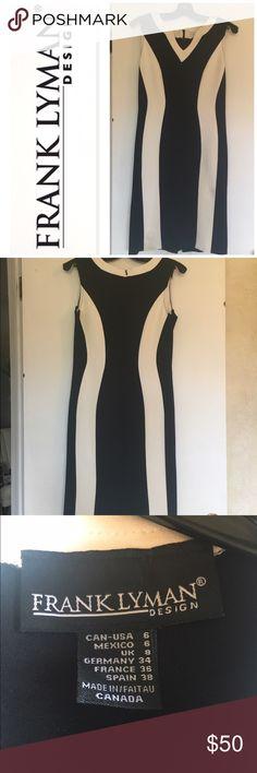 Selling this Frank Lyman Designer black and white dress on Poshmark! My username is: sabrihal. #shopmycloset #poshmark #fashion #shopping #style #forsale #Frank Lyman #Dresses & Skirts