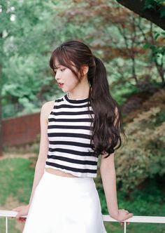 Korean Ulzzang Fashion – Official Korean Fashion - New Site Korean Fashion Trends, Asian Fashion, Girl Fashion, Fashion Ideas, Asian Korean Hairstyles, Asian Hair, Mode Ulzzang, Korean Ulzzang, Korean Perm