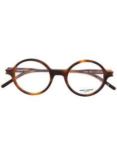 a0c6e21c5795b Achetez Saint Laurent Eyewear lunette de vue à monture ronde.