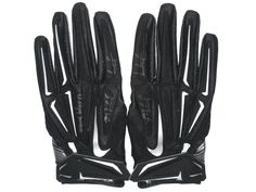 Michael Wilhoite San Francisco 49ers Game Worn & Signed Black & Silver Nike Superbad XL Gloves