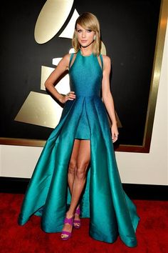 Taylor Swift attends the 57th annual Grammy Awards at the Staples Center in Los Angeles on Feb. 8, 2015.