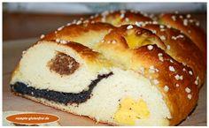 Glutenfreier Hefezopf mit dreierlei Füllung! Weich und himmlisch lecker! www.rezepte-glutenfrei.de