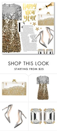"""""""New Year's Eve"""" by myduza-and-koteczka ❤ liked on Polyvore featuring Dolce&Gabbana, M. Gemi and House of Lavande"""
