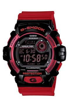 G-Shock 'Crazy Color' Digital Watch, 55mm available at #Nordstrom