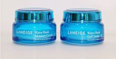 Laneige, Moist Bombing Cream, Water Bank Comparison, Moisture Cream and Gel Cream - Beauty Life in Korea with Lady Fox