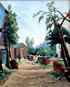 This is Farmyard, Woodham Ferrers by Harold Steggles pic.twitter.com/5nk4NG7bSO