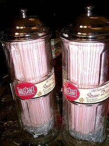 Retro Straw Dispensers...def need!