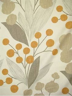 Capparis Spice:Kravet Fabric - Echo Design Fabric Linen Made in USA. up the roll repeat. Perfect for drapery or light use upholstery. Applique Patterns, Textile Patterns, Textile Design, Fabric Design, Pattern Design, Print Patterns, Textiles, Drapery Fabric, Linen Fabric