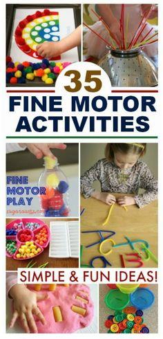 35+ (easy & fun) FINE MOTOR ACTIVITIES FOR KIDS #finemotoractivitiesforkids #finemotoractivitiesforpreschoolers #finemotoractivities #preschoolactivities #activitiesforkids