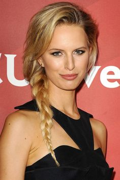 A well-done braid is eternally chic. Try on of these styles for a quick and easy look.