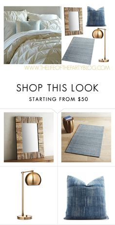 """""""Bedroom"""" by thelifeoftheparty ❤ liked on Polyvore featuring interior, interiors, interior design, home, home decor, interior decorating, Pier 1 Imports, Threshold and bedroom"""